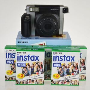 Fuji Instax 300 formato wide + 100 foto l'alternativa a polaroid da Fujifilm by