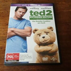 Ted 2 Extended Special Edition DVD R4 Like New! FREE POST