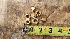 Jeep Willys M38 Brass Manifold Nuts self locking (7) L-head G740