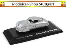 Porsche 356 Sl #46 Plata Le Mans 1951 - Welly 1:43 - MAP01935115 - Nuevo de