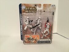 STAR WARS CLONE WARS - ARMY OF THE REPUBLIC CLONE TROOPER ARMY RED NEW