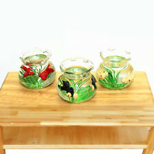 1 PC Mini Fish Tank Toys For Miniature Dollhouse Accessories Resin Set Fashion