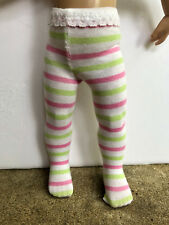 """STRIPED tights for 10"""" Patsy, Ann Estelle, Bitty Bethany now with Color Choices!"""