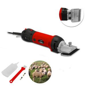 690W Heavy Duty Sheep Clipper Shear Trimmer Horse Cattle Animals Hair Cutter
