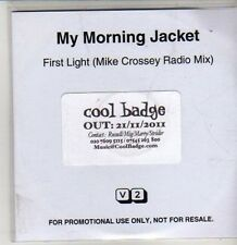 (CS693) My Morning Jacket, First Light - 2011 DJ CD