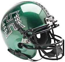 HAWAII WARRIORS NCAA Schutt XP Authentic MINI Football Helmet HAWAI'I