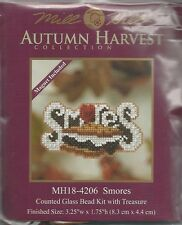 Smores Mill Hill Cross Stitch Kit with Beads & Treasure