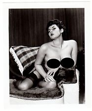 Photographie vintage 50/Klaw/Nylon/erotic/fetichisme/nude/pin up/breast