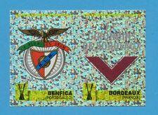 PANINI CALCIO COPPE 1997/98-Figurina n.170- BENFICA+BORDEAUX - SCUDETTO -NEW