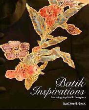NEW Batik Inspirations - featuring top batik designers by Quachee