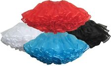 Vintage Tulle Layered Petticoat Crinoline Sexy Dancewear Rockabilly underskirt
