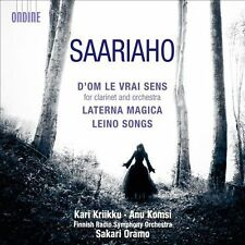 Kaija Saariaho: D'Om le Vrai Sens; Laterna Magica; Leino Songs (CD, Sep-2011,...