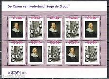 Nederland 2489-A-31/32 vel Canon 31 en 32 Hugo de Groot