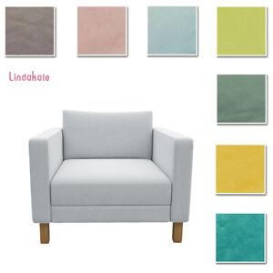 Custom Made Cover Fits IKEA Karlstad Armchair, Chair Cover, Velvet Fabric