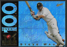 SELECT ACB CRICKET Retail 1998/99 STEVE WAUGH RECORD BREAKER Trading Card RB3