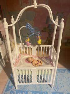 Barbie, Happy Family, Midge's Baby With Cot