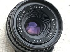 Meyer Optik Domiplan 50mm f2.8 Prime Lens - M42 Fit