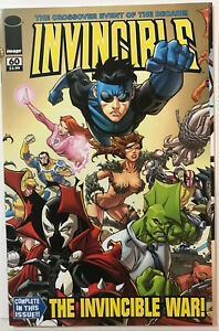 Invincible #60 (Image 2009) Invincible War! Double Gatefold cover High grade NM!