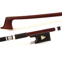 4/4 Violin Bow D.PECCATTE Copy Pro Master Antique Pernambuco Ebony Shield Silver