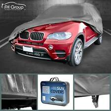 Car Cover Water Resistant Breathable UV Snow Heat Dust Rain Resistant XXL