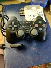 PS2 Black Wired Game Controller Gamepad Joypad for PlayStation 2