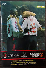 Milan v Manchester United 2007. Champions League semi final. Original.