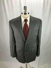 Ralph Lauren Men's Gray Herringbone Blazer Jacket 40R