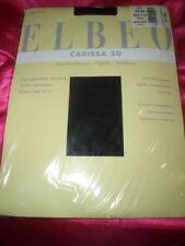 Elbeo Carissa finamente medias talla 52-54 negro 30 el Tights collant OVP