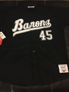 Headgear Classics Michael Jordan Barons Baseball Jersey Size 3XL $100