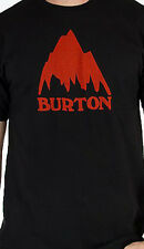 Burton Classic Mountain Short Sleeve Tee (S) True Black