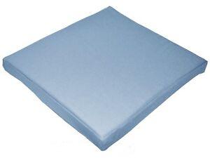 aa137t Light Blue Cotton Canvas 3D Box Sofa Seat Cushion Cover*Custom Size*