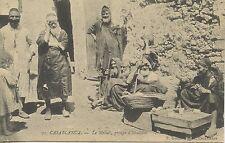 CARTE POSTALE / POSTCARD / MAROC CASABLANCA LE MELLAB GROUPES D'ISRAELITES