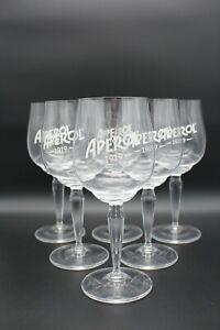 6x Aperol Spritz Glas Gläser Weingläser Cocktailgläser