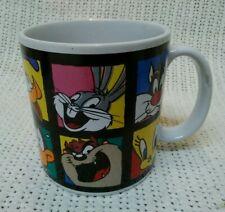 Vintage 1993 Warner Bros. Looney Toons Animation Characters Coffee Cup Mug. Nice