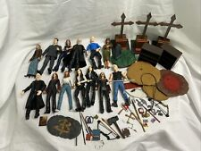 Huge 1/16 scale Buffy the Vampire Slayer Lot of 13 Figures Plus Accessories