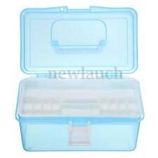 Boites de rangement bleu en plastique sans marque pour la maison