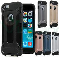 """Pellicola VETRO+Custodia HYBRID ARMOR SOFT TPU+plastica rigida per iPhone 7 4.7"""""""