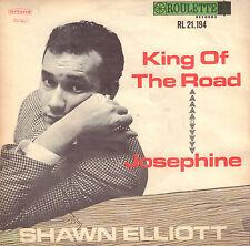 "SHAWN ELLIOTT – King Of The Road (1965 SINGLE 7"" 45 DUTCH ARTONE PS)"