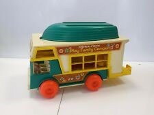 FISHER PRICE PLAY FAMILY CAMPER VINTAGE