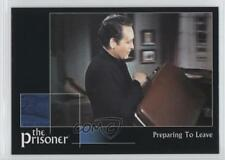 2002 Cards Inc The Prisoner Autograph Series #6 Preparing to Leave Card 0f8