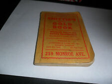 1928 SMITTIE`S GOLD BOOK WHOLESALE PRICES (USED CARS )SOUTHERN STATES EDITION
