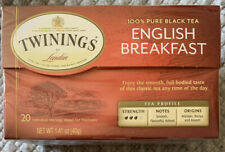 Twinings Of London English Breakfast Tea 10-Bag Box