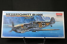 XJ019 ACADEMY 1/72 maquette avion 1668 Messerschmitt Bf 109E WWII German fighter
