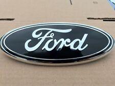 """Black FOR FORD F150 F250 F350 Explorer Edge 9""""Front Grille Tailgate Emblem Badge"""