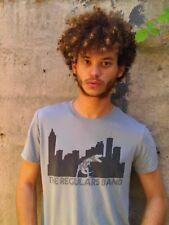 THE REGULARS BAND's Album REX Gray 100% Cotton Size M T-Shirt