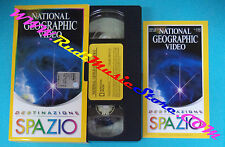 VHS film DESTINAZIONE SPAZIO 2000 NATIONAL GEOGRAPHIC VIDEO 10 (F88) no dvd