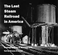 Last Steam Railroad in America by Garver, Thomas H. Hardback Book The Fast Free