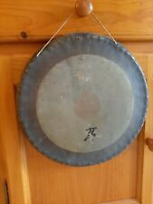 Gong Antique Antiguo gong 33 cm