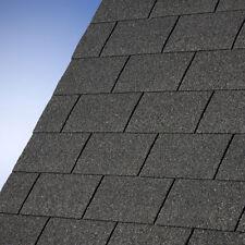 3 m² Rechteckschindeln schwarz für Gartenhaus Schindeln Dachschindeln Dachpappe