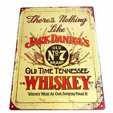 Retro JACK DANIELS WALL SIGN - Man Cave Home Bar Kitchen Den Pool Room Pub